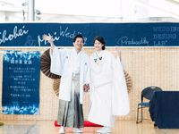 大阪駅「時空の広場」でパブリックウェディング!デニムを活かしたコーディネートに注目♪