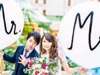 【結婚式拝見】彼と一緒にDIY!シェラトン・グランデで感謝いっぱいのガーデンウェディング