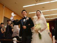 【結婚式拝見】職場恋愛を実らせたおふたりの、職場挙式&リストランテASOでの二部制ウェディング