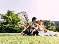【結婚式拝見】「ジェネラス軽井沢」でふたりらしくカジュアルに♪アウトドアな海外風ガーデンウェディング