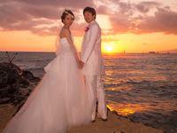 【結婚式拝見】ハワイ最古のカワイアハオ教会で心温まるアットホームウェディング