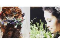 「花嫁髪型」はもう決めた?真似したいヘアスタイルアイデア!
