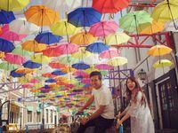 「傘」をモチーフで取り入れた、6月のHappyウェディング♪