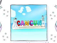 【フォトアイデア】近年人気のカリブ海リゾート「カンクン」でしか撮れないウェディングフォトを♪