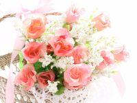 \夏婚の花嫁におすすめ/カゴブーケでナチュラルウェディングを♪