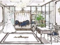 関西プレ花嫁さんに朗報♪ヨーロッパ発のドレスが揃う「Authentique」がOPEN!
