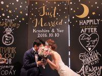 【結婚式拝見】ふたりの名前から取った「月と星」がテーマのコンセプチュアルウェディング!