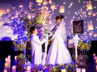 【結婚式拝見】そこはまるで夢の空間♪憧れをカタチにしたキラキラウェディング