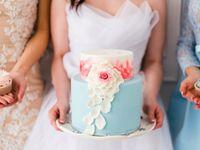 \超絶かわいい/ゲストもメロメロ!お花デザインのカップケーキ