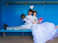 【結婚式拝見】いまふたりの人生をプレイボール!野球づくしのベースボールウェディング♪