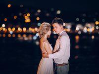 とびきりのロマンティック感が欲しいなら♪「ナイトウェディングフォト」を撮ってみよう!