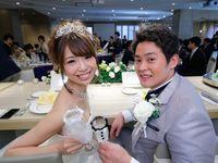 【結婚式拝見】アメフトがテーマだけど可愛い結婚式!?皆が笑顔のHAPPYウェディング