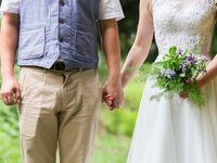 30代の花嫁さんに♪袖ありウェディングドレスで大人スタイル
