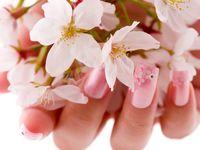 2017春婚の花嫁さん♪ドレスにも着物にもぴったりの桜デザインブライダルネイル