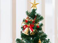 テーブルもウェルカムスペースも!クリスマスツリーをテーマにしたウェディングアイデア♪