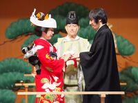 【結婚式拝見】家族と一緒に2泊3日!能舞台で行う親孝行の「旅ウェディング」
