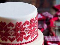 絶対印象に残る!クリスマスシーズンの結婚式にぴったりのキュートなウェディングケーキ