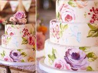 ウェディングケーキのトレンド先取り!ゴージャスで繊細なペインテッドケーキって?