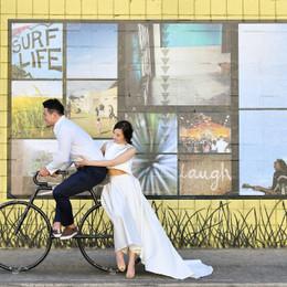 《アレクサンドラ・グレッコ》のセパレートドレスでカジュアルスタイル花嫁に挑戦!