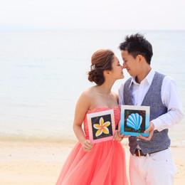 【結婚式拝見】沖縄の伝統も、ハワイアンな雰囲気も♪地元の名護市で叶えたウェディング