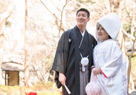 【結婚式拝見】卒花さんから受けた幸せのバトン!八芳園で叶えた「桜満開」愛に溢れた結婚式