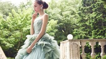 【ドレス】秋冬婚にオススメ!スモーキーカラーのドレス11選♪