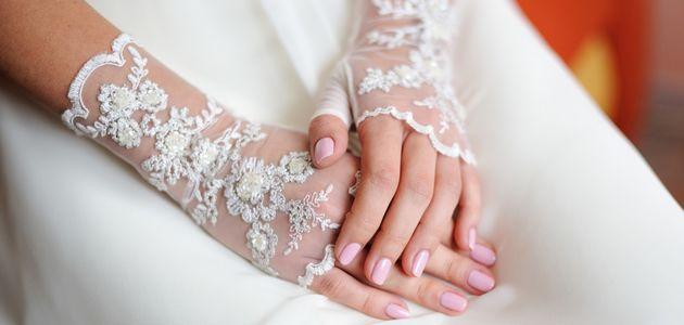 花嫁(女性)のネイル