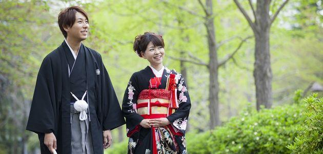 花婿(男性)の和装・紋付袴