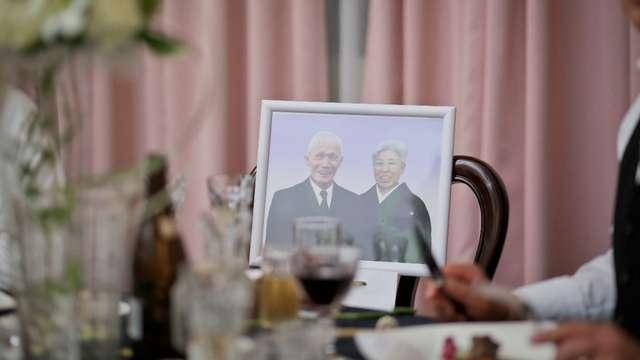 結婚式の祖母