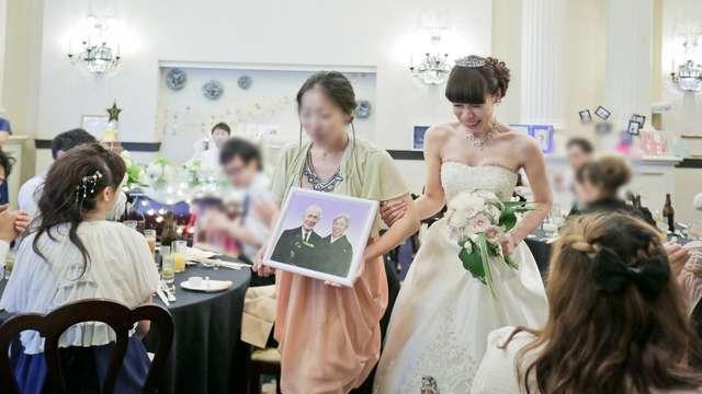 結婚式の中座