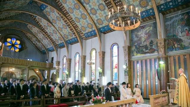 サレジオ教会の結婚式