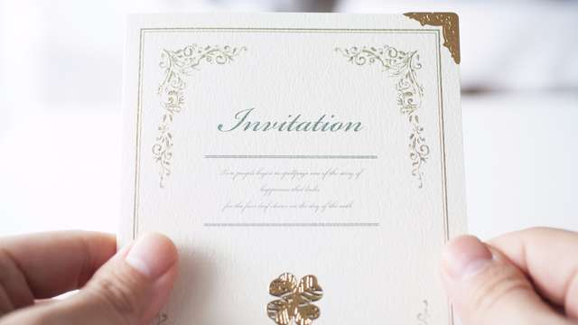 招待状の返信に関するマナー