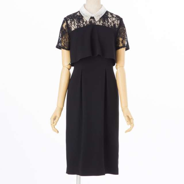 40代向けピンクドレス