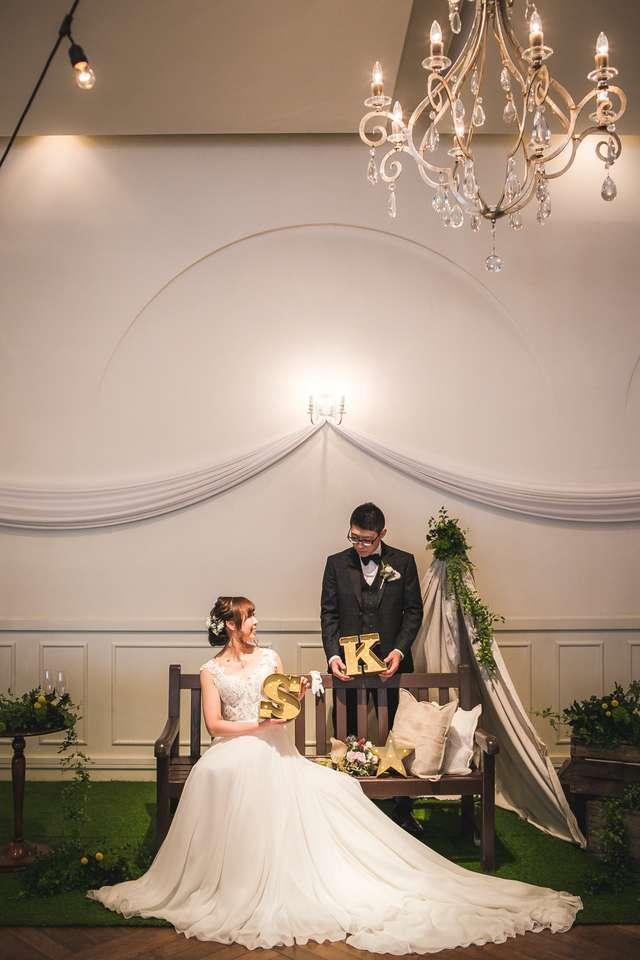 結婚式の高砂