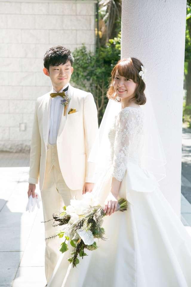 結婚式のボブスタイル