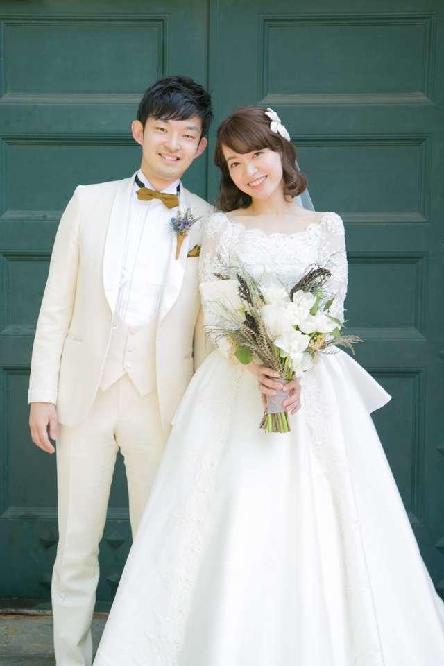 結婚式のウェディングドレス