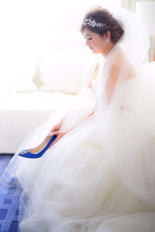 VERA WANGの「バレリーナ」のドレス