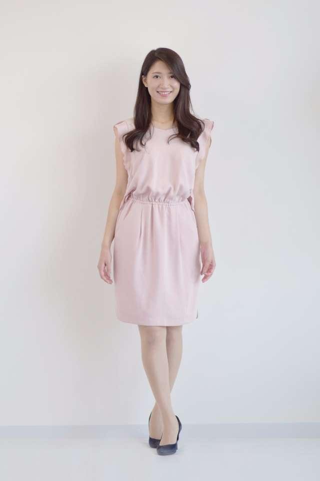 二次会向けピンクドレス・ワンピース