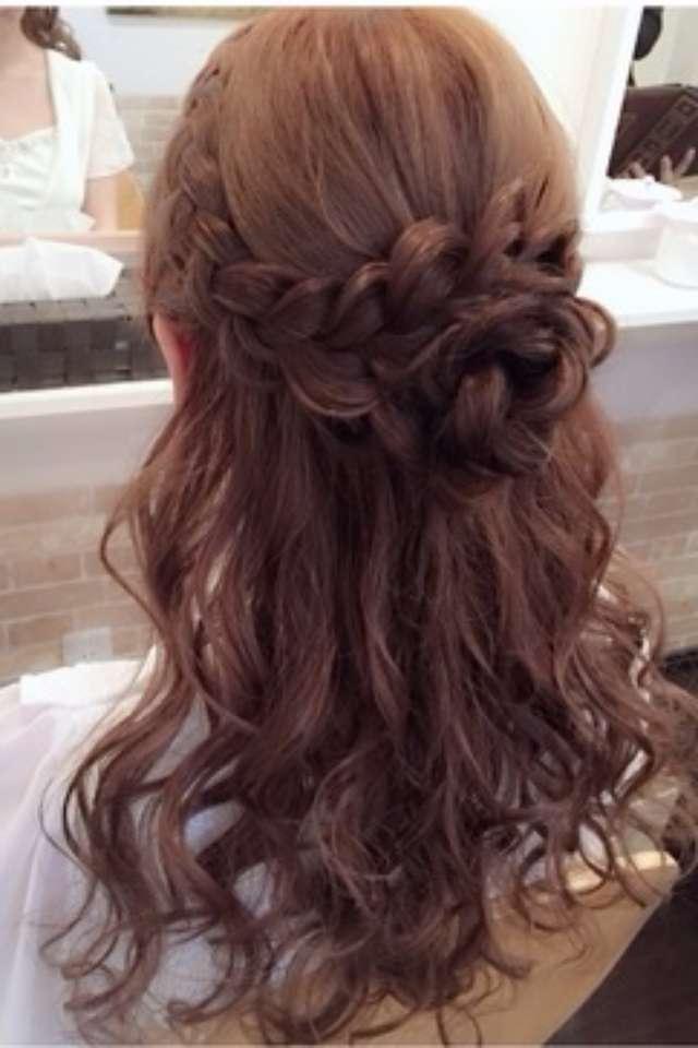 結婚式お呼ばれ髪型<2018年>自分でできるセルフヘアアレンジ画像&マナー