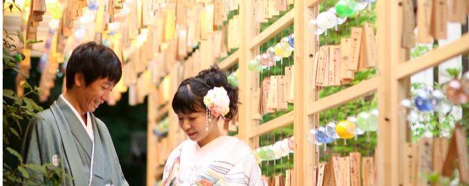 【夏季限定プラン】川越氷川神社「縁むすび風鈴」で涼やかロケーションフォト