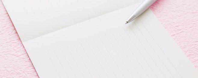 【内祝い】お礼状の書き方と文例&マナー
