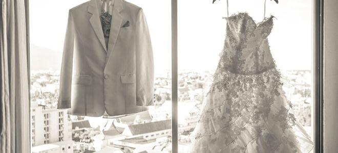 花嫁花婿の衣装・髪型・メイク