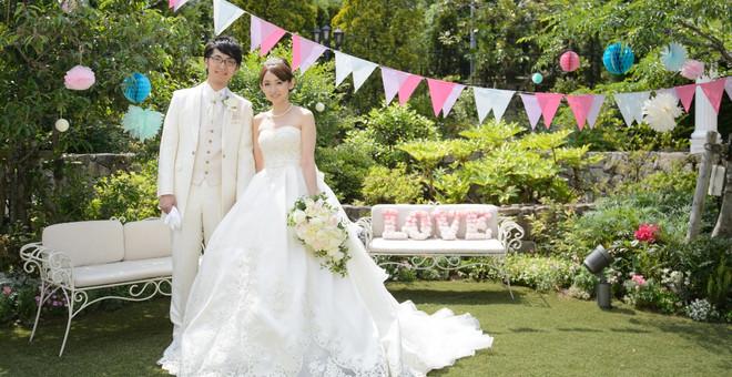 【結婚式拝見】人生で一番幸せな日♪お花とDIYで彩られた本気のガーデンウェディング