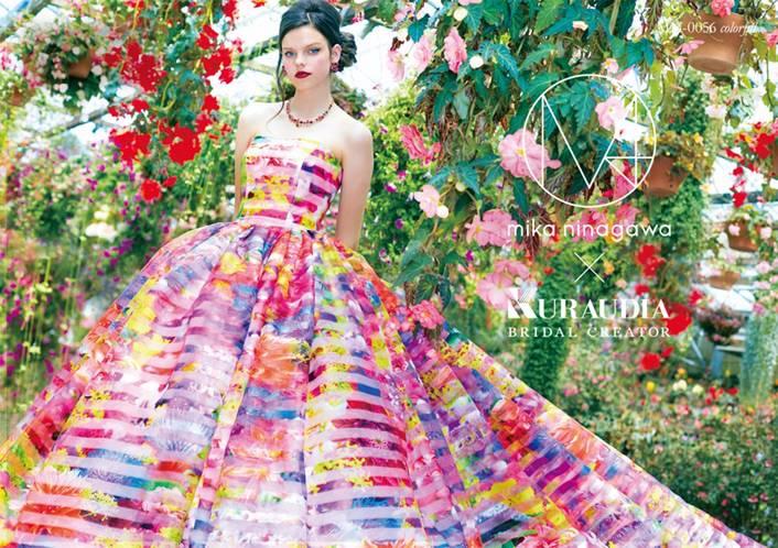 M / mika ninagawaウエディングドレス