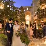 【2019年7~8月に結婚式の方限定】60名 218万円~