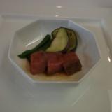 メインのお肉料理。和風でした。
