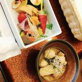 前菜には鎌倉野菜を入れて貰いました