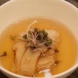 出身の博多の地鶏を使った茶碗蒸し