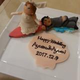 ケーキのマジパン