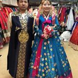 韓国衣装です。